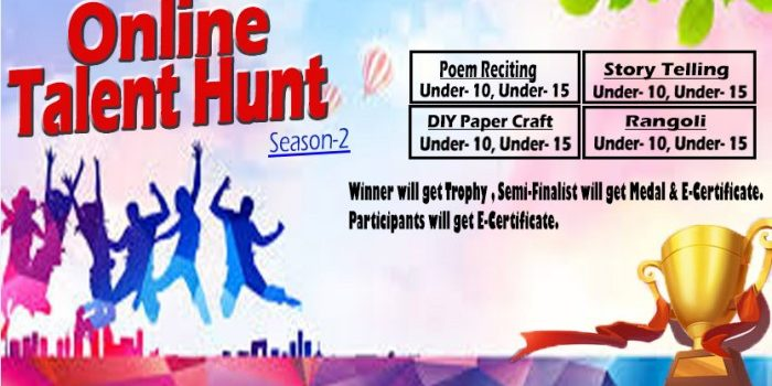 Online Talent Hunt Season 2 by R&H Creative Solutions