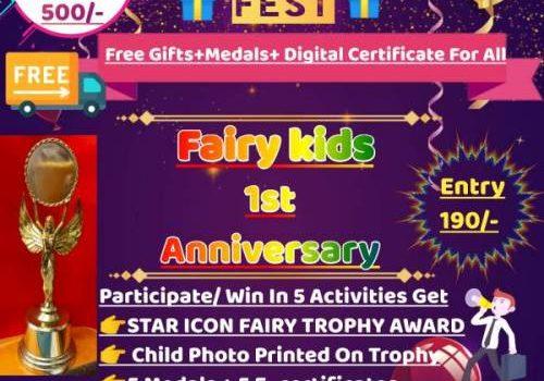 Fairy kids Presents National Level Online OPEN THEME FEST 2021