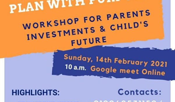 Skybloo Online Workshop for Parents |Investments & Child's Future
