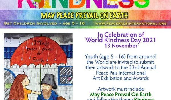 23rd Annual 2021 Peace Pals International Art Exhibition & Awards | FREE Entry