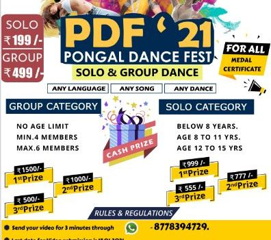 All India Pongal Dance Fest for Children 2021