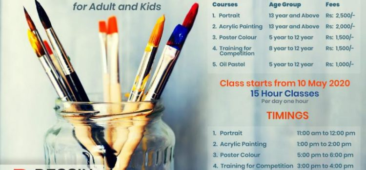 Online Summer Drawing And Painting Classes For Lockdown 2020