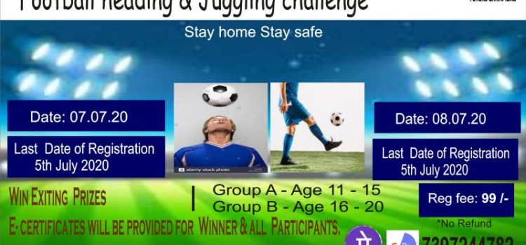 Online Football Heading and Juggling Contest 2020