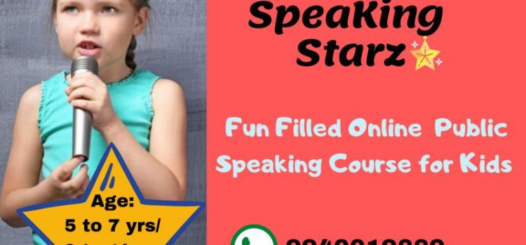 Public Speaking Classes for Kids 5 to 14 years