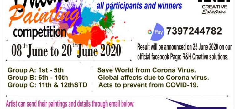 Online Painting Contest till 20th June 2020 by R&H Creative Solutions