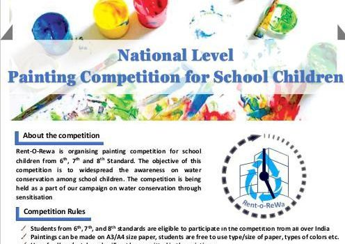 National Level Painting Competition for Children by Rent-o-ReWa
