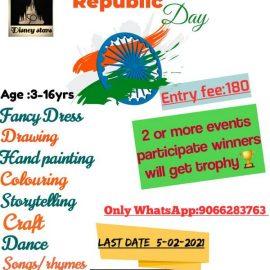 Disney Stars All India Republic Day Online Contest 2021