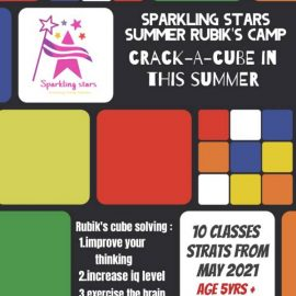 Summer Camp on Rubik's Cube by Sparkling Stars