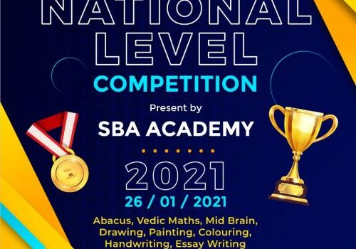 SBA ACADEMY Presents Open National Level Competition 2021