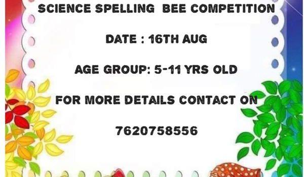 Science Spelling Bee 2020