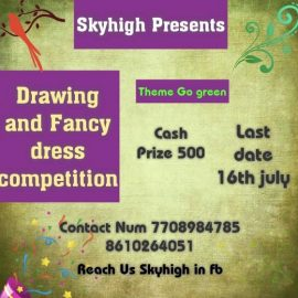 Skyhigh Drawing & Fancy Dress Competition