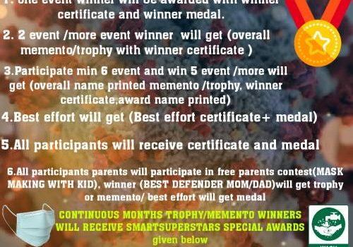 BEST CORONA SAFE GUARDER AWARD (BCSA) ONLINE COMPETITION 2021