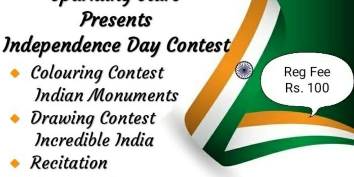 Sparkling Stars Presents Independence Day Contest 2020