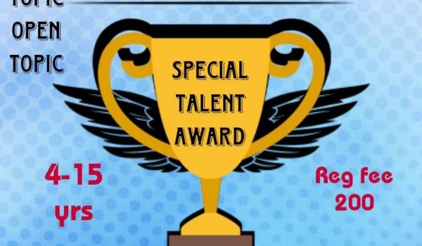 Special Talent Competition by Awesome Kids
