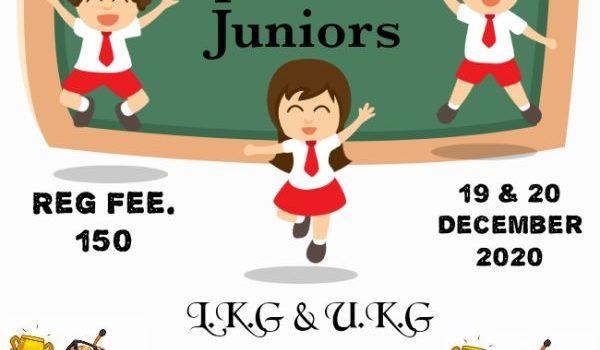 Sparkling Stars December 2020 Spell Bee Juniors