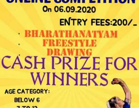 Online Dance and Drawing competition on 06.09.2020