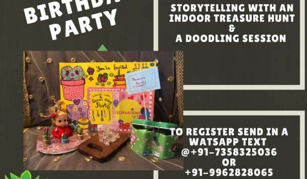Story Telling & Doodling Event on Aug 1 , 2021