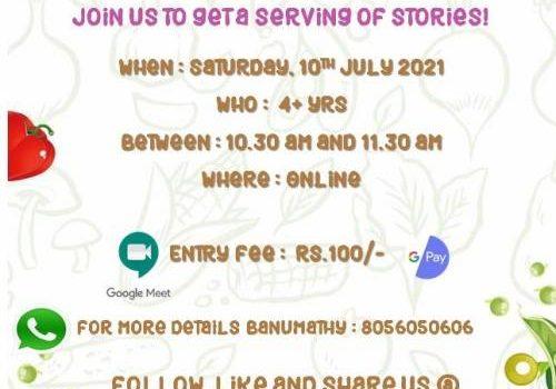 Weekend Storytelling Session – 10/7/2021