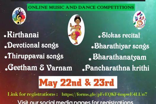 KODAI KAALA KALAI VIZHA 2021   Music & Dance Competition – SUHA ACADEMY OF FINE ARTS