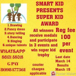 SMART KID PRESENTS SUPER KID CONTEST