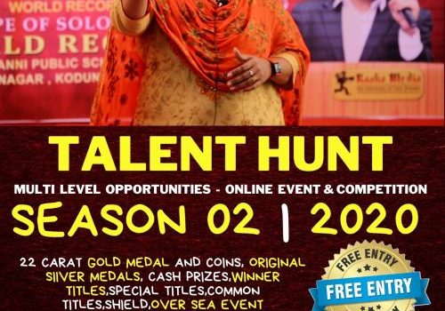 Raaba Media's TALENT HUNT ONLINE EVENT Season 2