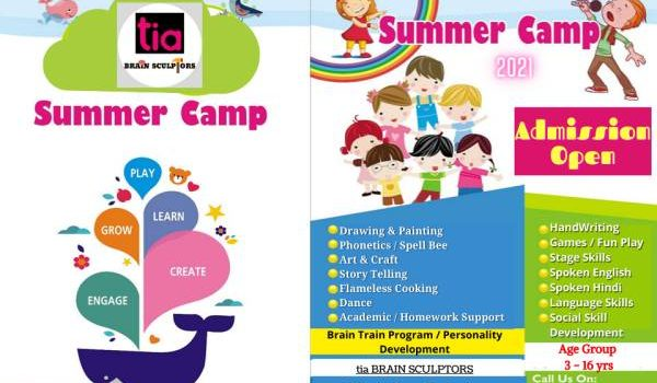 SUMMER COURSE FOR KIDS 2021 by tia BRAIN SCULPTORS