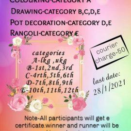 Unicorn Kids Presents Pongal Online Contest 2021