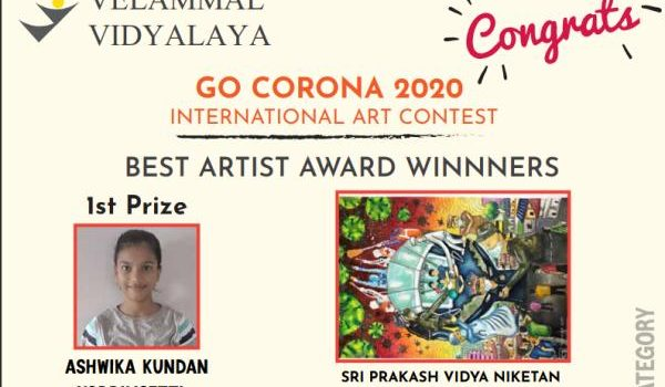 Velammal GoCorona Art Contest Results Announced