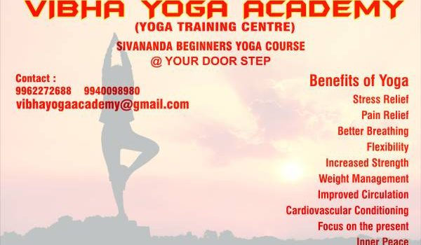 Vibha Yoga Academy YOGA CLASSES AT YOUR DOOR STEP