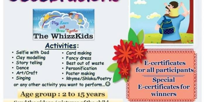The WhizzKids FATHER'S DAY CELEBRATIONS