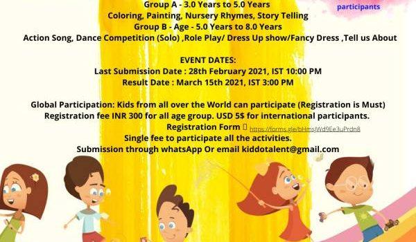 Kiddo Talent Winter Art Contest – 2021