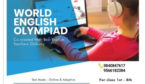 World English Olympiad for classes 1 to 8