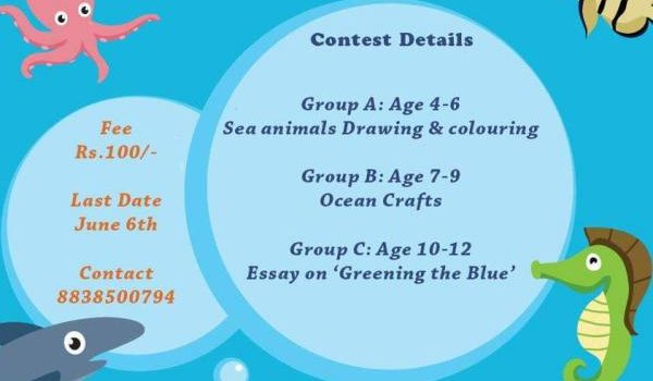 Ocean Themed Online Contest Celebrating World Ocean Day