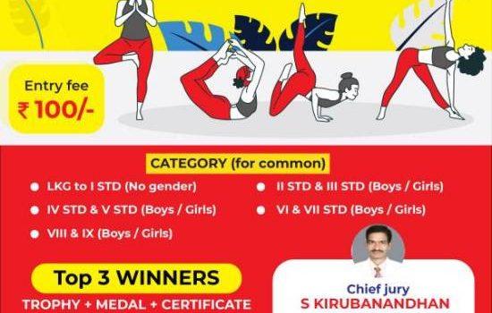 Sportena Online Yoga Champions for School Children