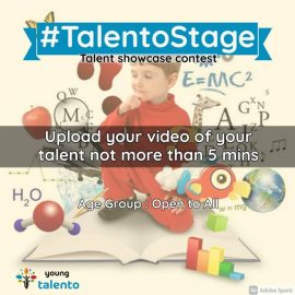 YOUNG TALENTO JUNE 2021 MONTH CONTESTS
