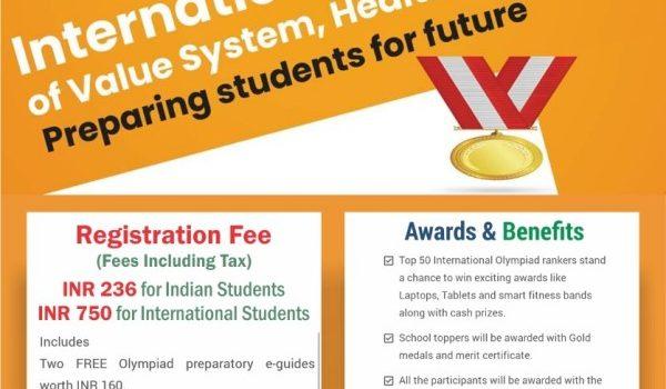 International Olympiad Of Value System, Health& Wellness
